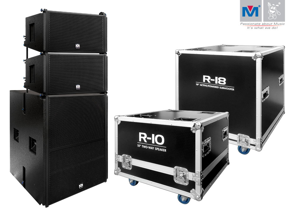 R-10 2-Way Speakers + R-18 Active/Powered Subwoofer | Better