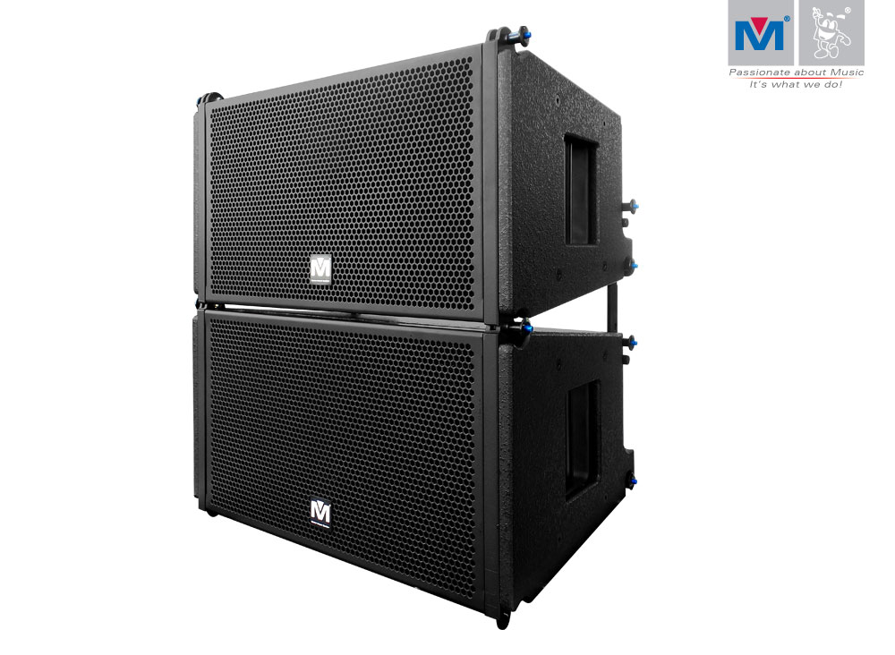 R 10 Two Way Speaker 600w Line Array Pair Better Music
