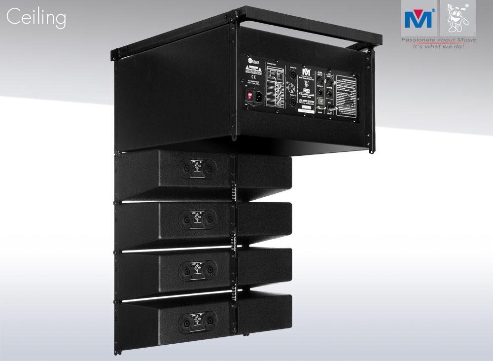 R4/R8 Compact Active Line Array Speakers 1100 WattsR4/R8 Compact Active Line Array Speakers 1100 Watts